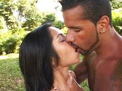 Sexy Lalin girl fucking outdoor