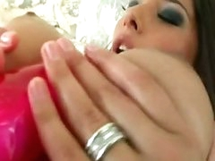 Hawt Doxy Zafira Is Loving The Outstanding Toy This babe Stuffs In Her Pink Snatch