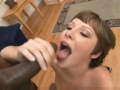 She takes multiple cumshots after entertaining