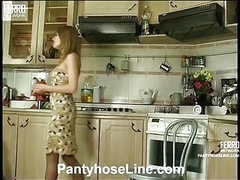 Alice&Mike nifty pantyhose video