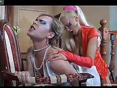 Christiana&Silvester ding-dong pussyclothed sex episode