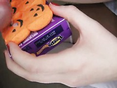 Miley Wishes Some Yummy Halloween Treats!