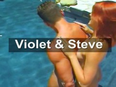 Violet is a red-haired hotty who gets hammered by Steve
