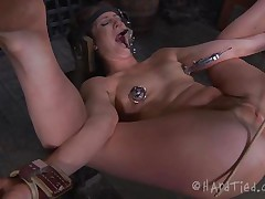 anal torture for a naughty milf