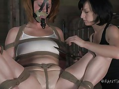 fastened hard and punished harder