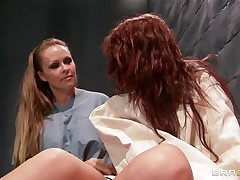 blond slut fingers redhead patient