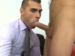 Unfathomable anal drilling session for sophisticated gay chap