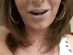 Beauty can't live without to acquire her loving holes stuffed by big penis