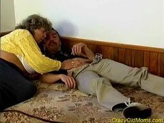 Crazy old mamma drilled hard sex