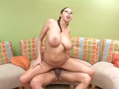Large tits Gianna Michaels rides her man