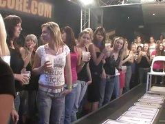 Drunk Women Go Wild With Stripper