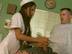 Small nurse Alexis Love hardcore sex